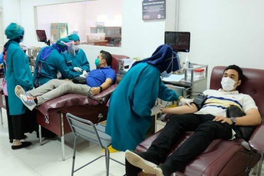 Pekerja Pertamina di Jawa Bagian Tengah donorkan Plasma Darah Konvalesen