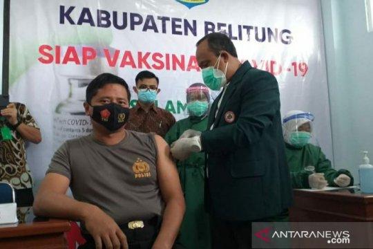 Belitung mulai laksanakan vaksinasi perdana COVID-19