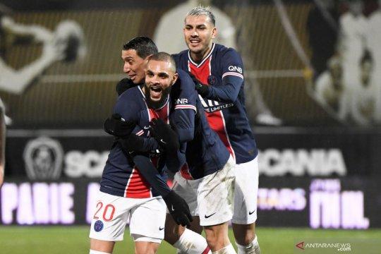PSG ke puncak klasemen sementara usai mengalahkan Angers 1-0