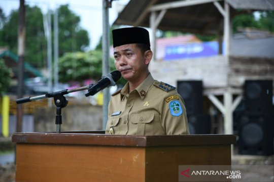 Bupati Bangka meminta masyarakat perhatikan kebersihan lingkungan