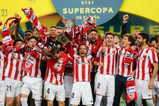Tumbangkan Barcelona, Bilbao juara Piala Super Spanyol