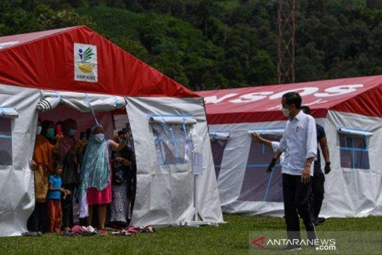 Presiden tinjau penanganan gempa Sulawesi Barat