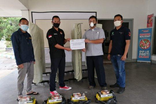 PT Timah Serahkan Sarana Olahraga untuk Karang Taruna Ketapang