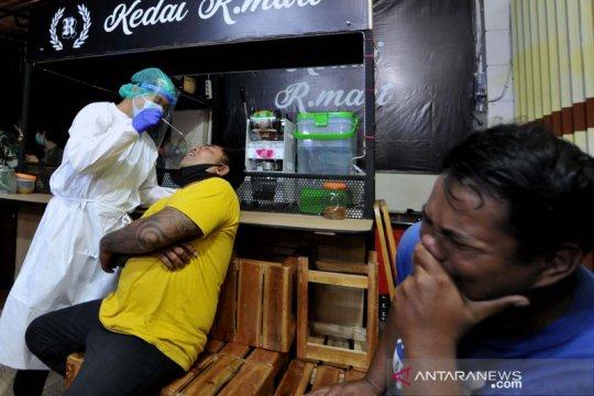 Tes cepat antigen untuk pelanggar aturan PPKM di Denpasar