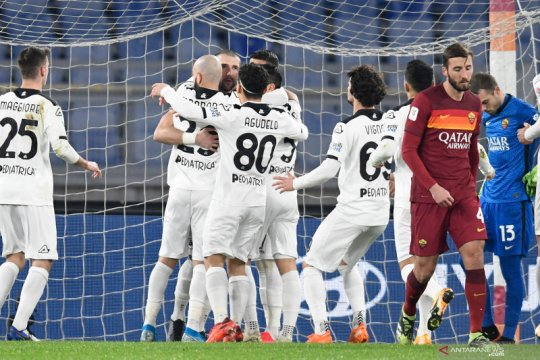 Spezia singkirkan AS Roma dari Piala Italia lewat perpanjangan waktu