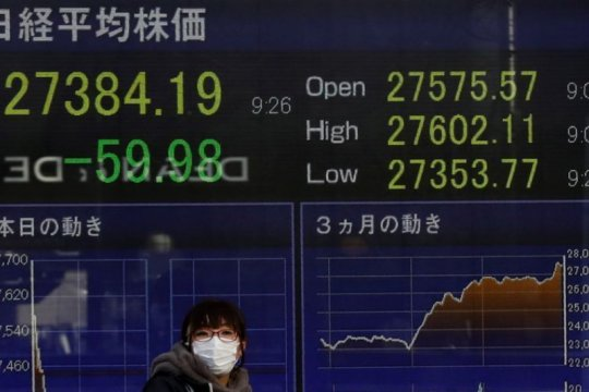 Nikkei sentuh level tertinggi dari 31 tahun didorong kenaikan saham siklikal