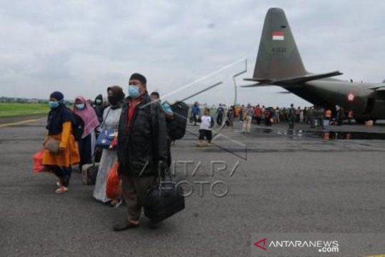 Pemulangan Pengungsi gempa Ke Daerah Asal