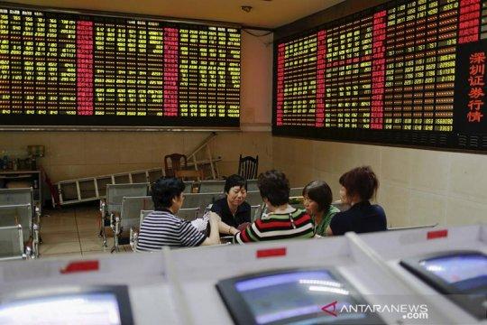 Saham China Kamis pagi dibuka lebih rendah setelah merosot tiga hari beruntun