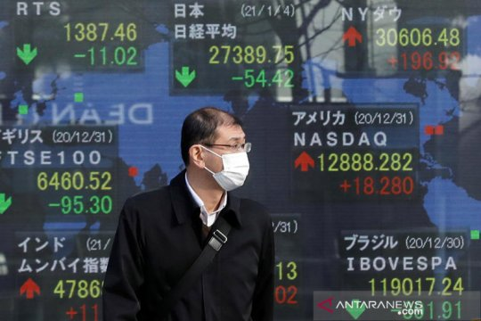Saham Jepang Senin pagi naik dipicu rencana pencabutan kebijakan darurat COVID-19