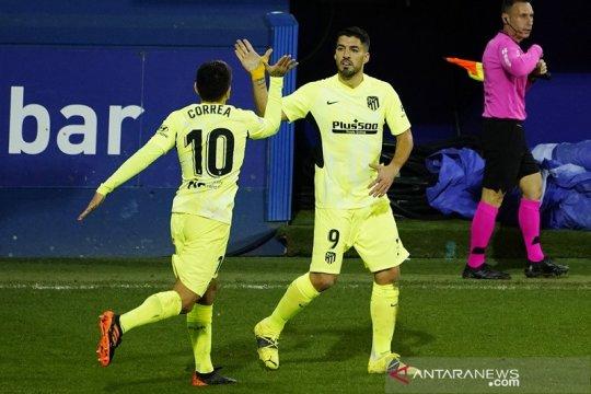 Liga Spanyol: Atletico kian kokoh, unggul tujuh poin di puncak