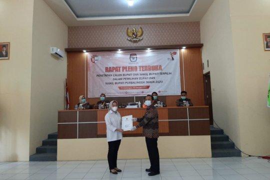 KPU Purbalingga tetapkan pasangan Tiwi-Dono sebagai kepala daerah terpilih