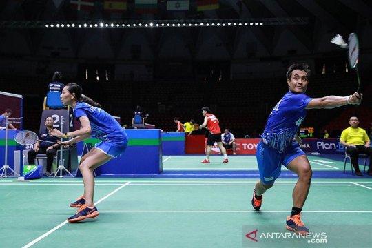 Hafiz/Gloria kandas, gagal ke semifinal Thailand Open II
