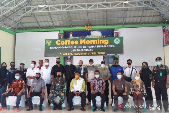Dandim 0414 Belitung gelar komunikasi sosial perkuat sinergitas