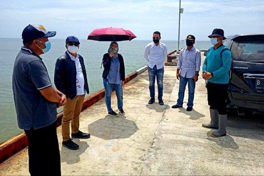 Wabup Iswanti terima kunjungan Pelni di Pelabuhan Teluk Segintung