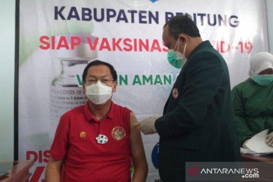 Sasaran vaksinasi COVID-19 tahap dua di Belitung capai 1.050 orang