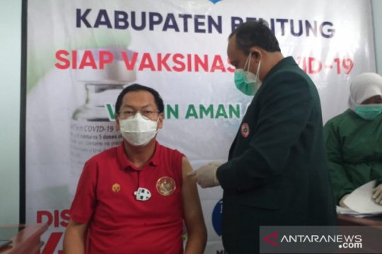 Wakil Bupati Belitung siap ikuti vaksin COVID-19 tahap dua