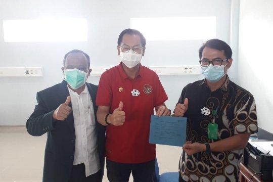 Wabup Belitung sebut nafsu makannya bertambah setelah disuntik vaksin COVID-19