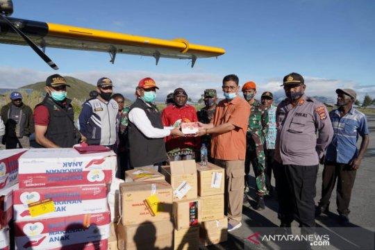 Kemensos salurkan bantuan korban banjir bandang di Paniai Papua