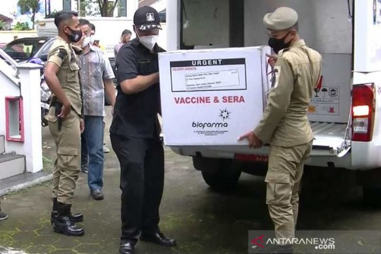Siap vaksinasi, Pemkab Temanggung terima vaksin COVID-19