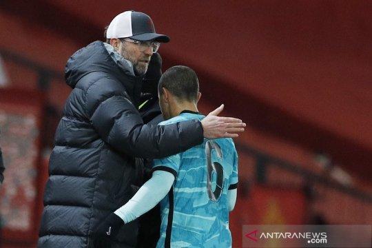 Juergen Klopp mengais aspek positif dari kekalahan lawan MU di Piala FA