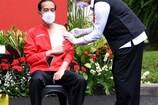 Presiden Jokowi janji benahi pelaksanaan vaksinasi COVID-19