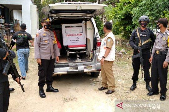 Polisi Bangka Barat kawal distribusi Vaksin Sinovac