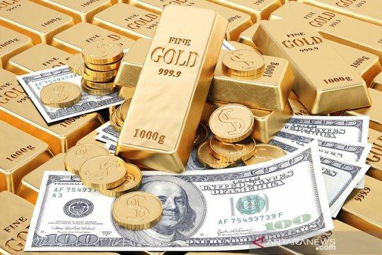 Harga emas Jumat pagi anjlok 29 dolar