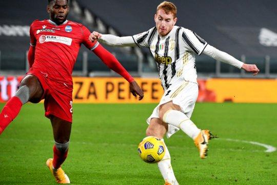 Juventus menang besar 4-0 atas SPAL untuk tantang Inter di semifinal