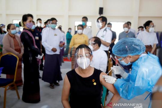 Kemenkes Myanmar catat rekor harian COVID-19