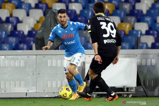 Napoli hancurkan Spezia 4-0 untuk melaju ke semifinal Piala Italia