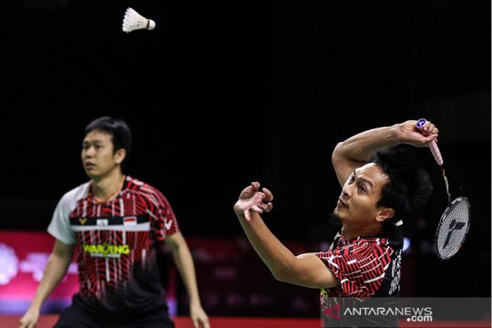 Hendra/Ahsan gagal pertahankan gelar WTF usai dikalahkan wakil Taiwan