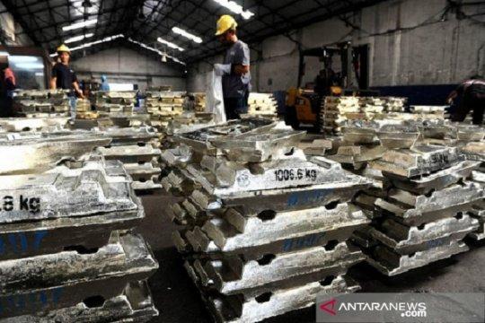 Ekspor timah dan nontimah Bangka Belitung naik 74,79 persen