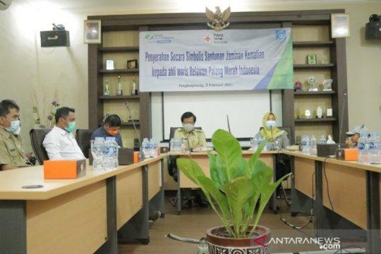 Relawan PMI asal Pangkalpinang terima santunan kematian