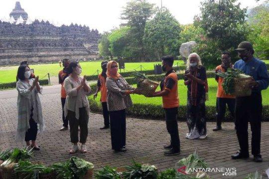 Tradisi Ruwat Rawat Borobudur berlangsung secara virtual