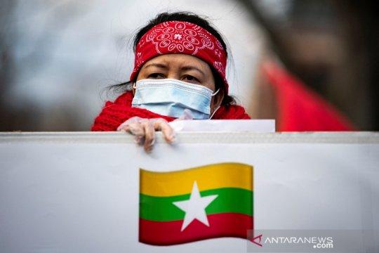 Biden setujui perintah untuk sanksi baru atas jenderal Myanmar
