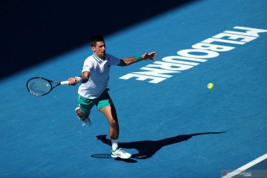 Cedera, Djokovic akui melanjutkan Australian Open adalah pertaruhan