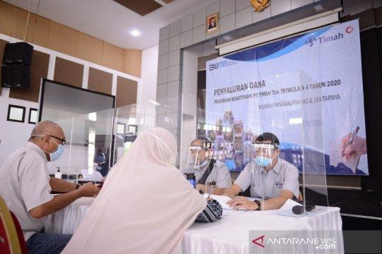 PT Timah kucurkan Rp16 miliar bantu UMKM Babel