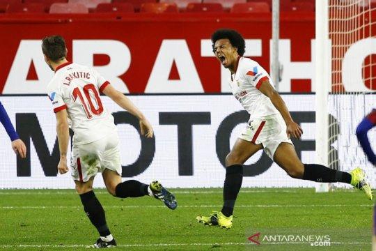 Sevilla memenangi leg pertama semifinal Copa del Rey kontra Barcelona