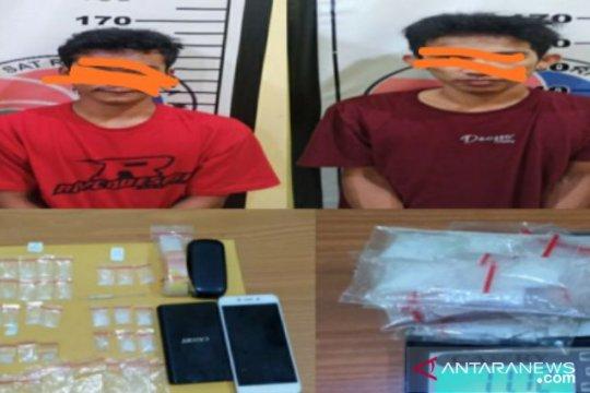 Polres Bangka Selatan tangkap pengedar narkoba di belakang karaoke Ozon