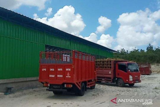 Pertamina sidak gudang penyimpanan gas elpiji tiga kilogram