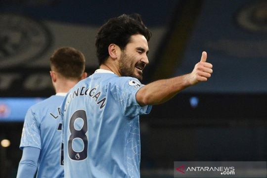 Manchester City bungkam Tottenham 3-0