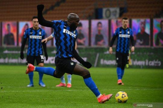 Hasil dan klasemen Liga Italia: Milan tumbang dan Inter menang
