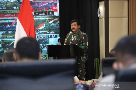 Bersinergi, Panglima TNI: Gesekan personel TNI-Polri berkurang