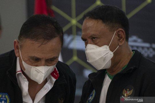 PSSI-LIB lapor kepada Menpora bahwa turnamen pramusim nirkendala