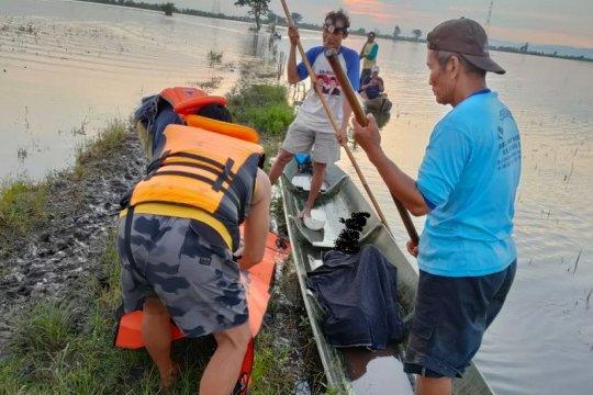 Seorang pencari ikan yang tenggelam di rawa Jekulo Kudus ditemukan meninggal