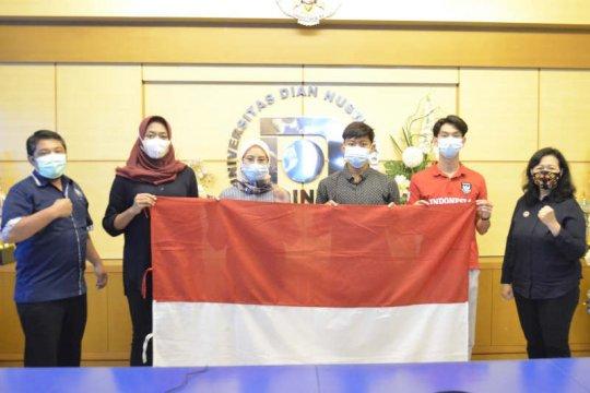Dua mahasiswa Udinus Semarang ikuti pelatnas SEA Games 2021