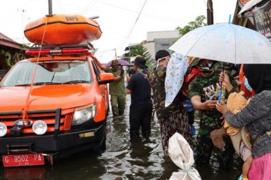 17 kelurahan di Kota Pekalongan  terendam banjir