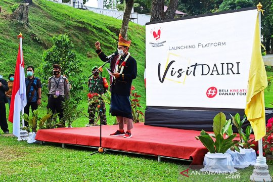 Menteri Sandiaga Uno resmikan platform visitdairi.com