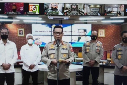 Gandeng LKBN ANTARA Divhumas gelar pelatihan public speaking Polri