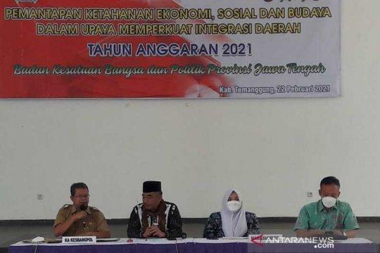 Kesbangpol Jawa Tengah lakukan pemantapan ketahanan ekososbud di Temanggung